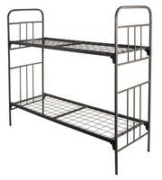 Кровати металлические одноярусные и двухъярусные,  кровати армейские - foto 0